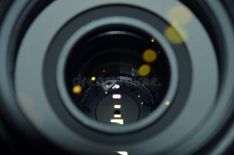 изолированная предпосылкой белизна фото объектива стоковые фотографии rf