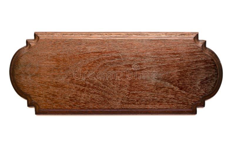 Изолированная планка древесины Teak стоковые изображения rf