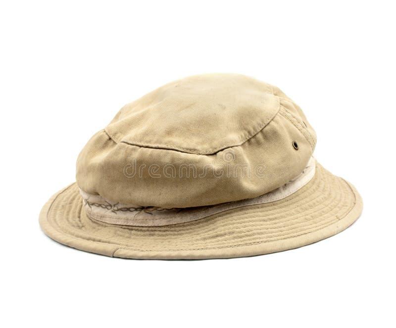 Изолированная шляпа Boonie стоковая фотография rf