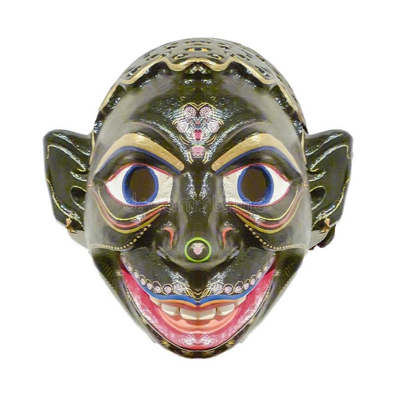 Изолированная эквадорская этническая маска стоковые изображения rf
