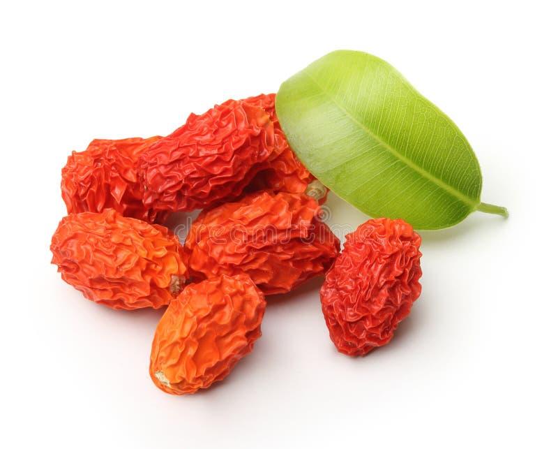 Изолированная ягода Goji стоковая фотография rf