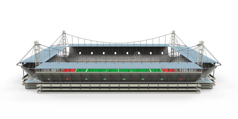 Изолированное здание стадиона стоковые фотографии rf