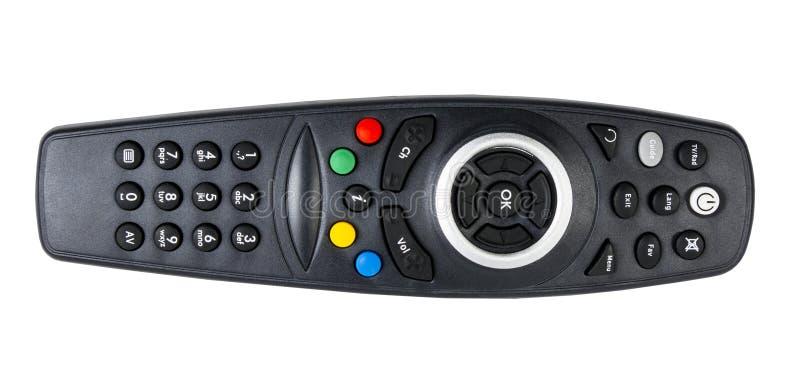 Изолированное дистанционное управление TV стоковое фото rf