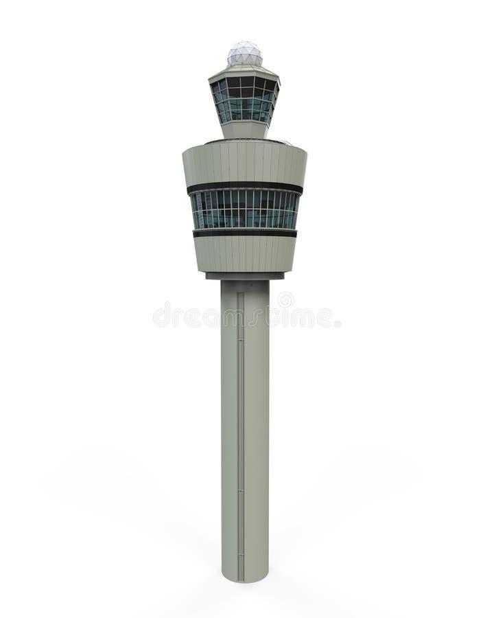 Изолированное управление башни воздуха иллюстрация вектора