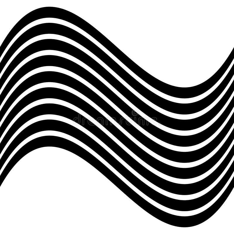 Download Изолированные линии с эффектом искажения на белой предпосылке Geome Иллюстрация вектора - иллюстрации насчитывающей геометрическо, несимметричной: 81800691