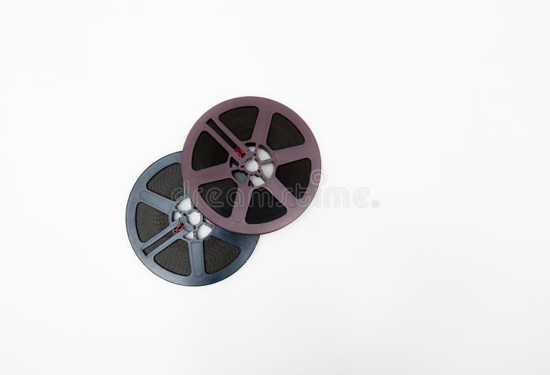Изолированные пары вьюрков 8mm серых и пурпура стоковые фотографии rf