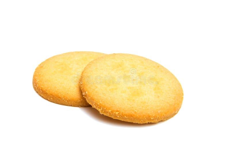 Изолированные печенья Confection круглые стоковые изображения