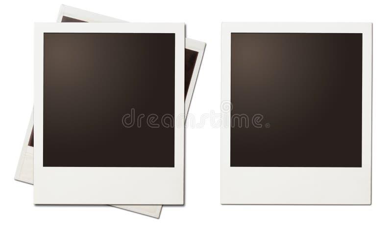 Изолированные рамки ретро немедленного фото поляроидные бесплатная иллюстрация