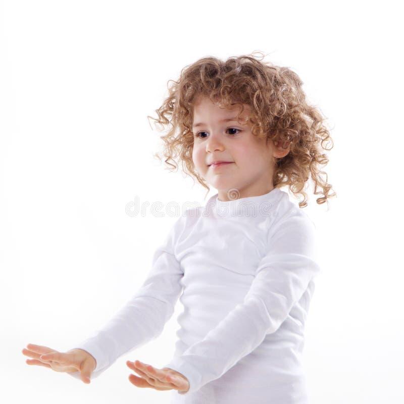 Изолированные эмоции детей стоковые фото