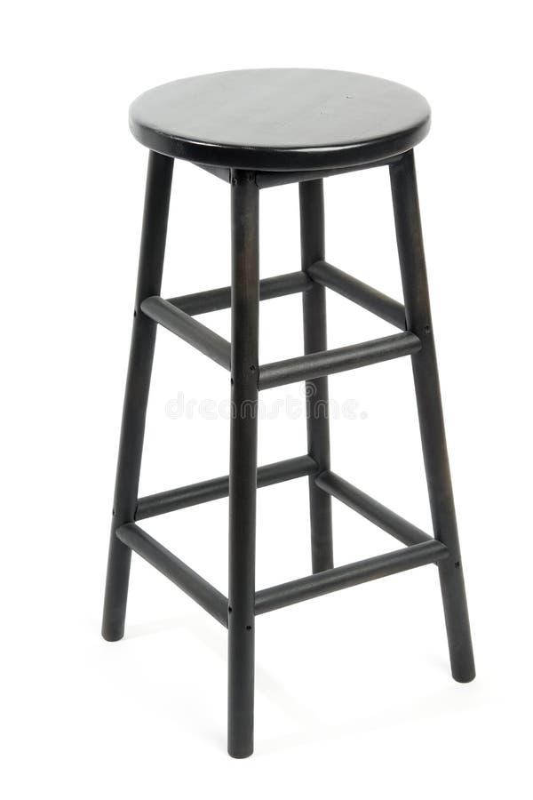 Изолированный барный стул стоковые изображения rf