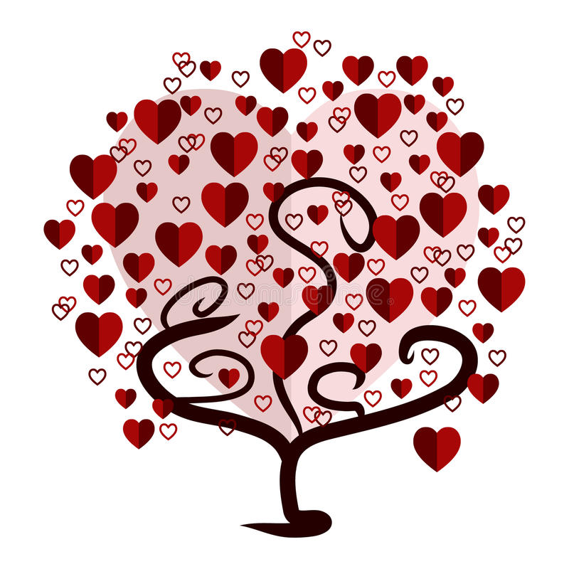 изолированный вектор варианта вала знака предмета влюбленности логоса иллюстрация вектора