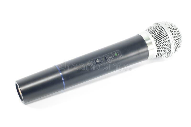 Изолированный микрофон. стоковая фотография rf