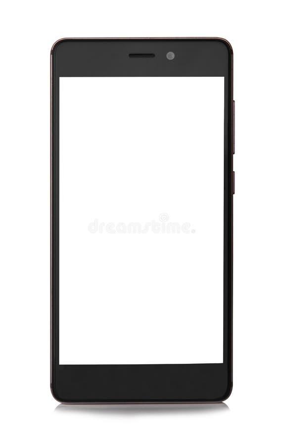 изолированный мобильный телефон стоковое фото rf