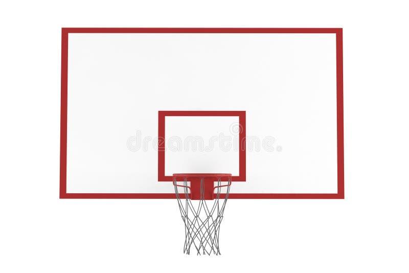 Изолированный обруч баскетбола бесплатная иллюстрация