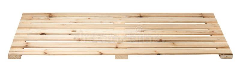 изолированный паллет представляет белое деревянное стоковые фото