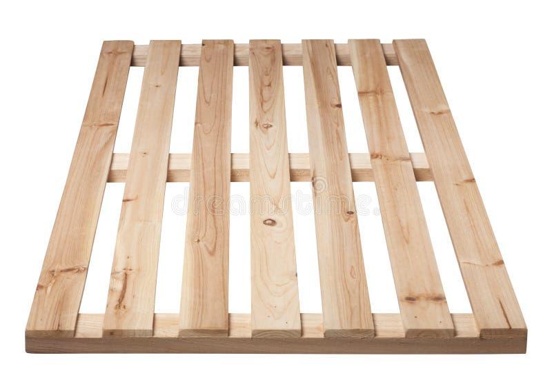 изолированный паллет представляет белое деревянное стоковое фото rf