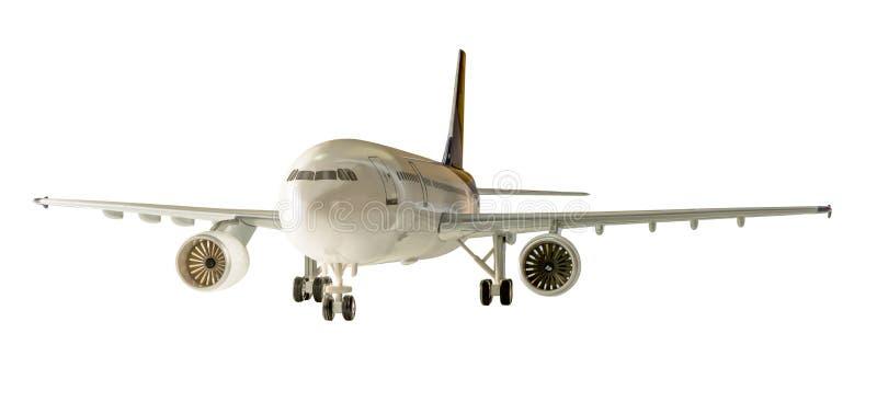 изолированный самолет стоковые фотографии rf