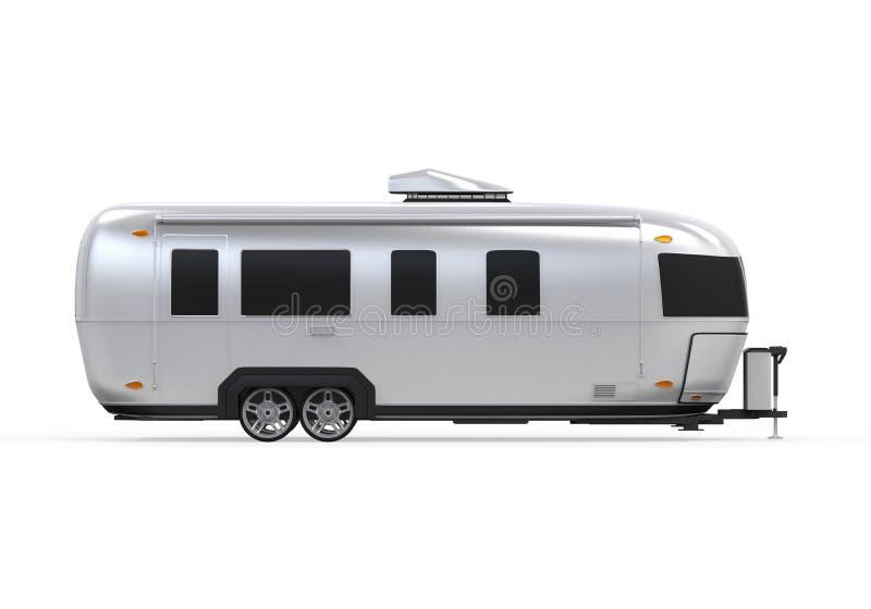 Изолированный турист Airstream бесплатная иллюстрация