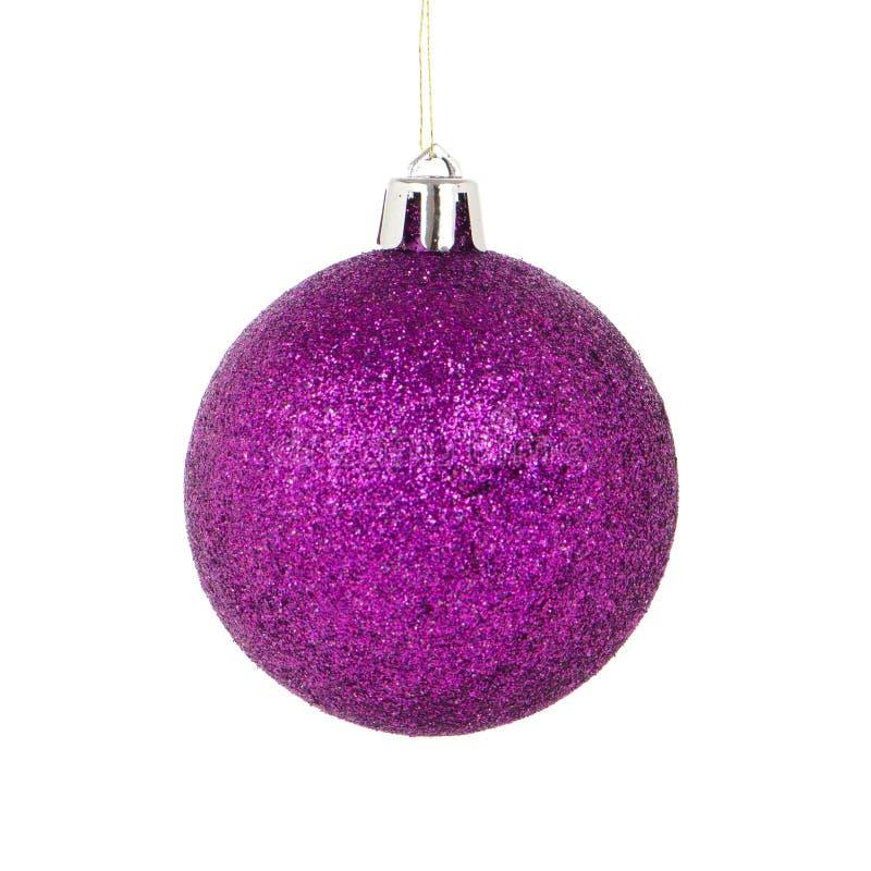 Изолированный шарик рождества стоковые изображения