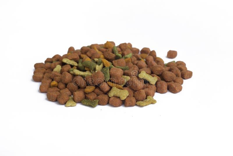 Изолят собачьей еды стоковые изображения rf