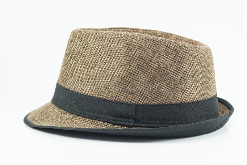 Изолят шляпы на белой предпосылке стоковое изображение