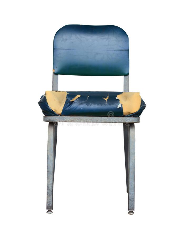 Grungy стул стоковые изображения