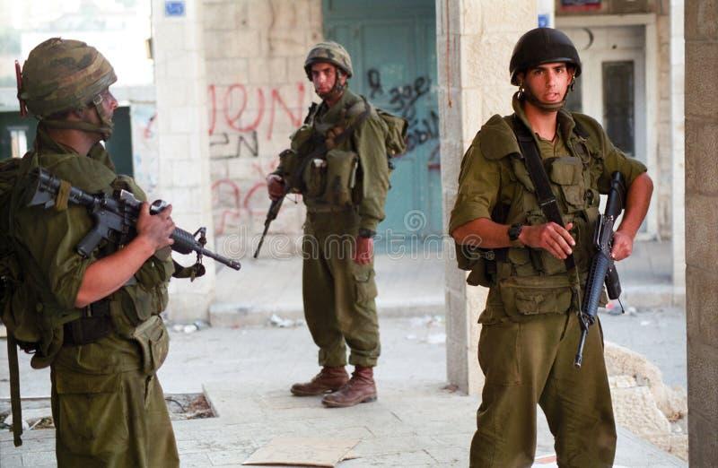 израильские воиска стоковое изображение