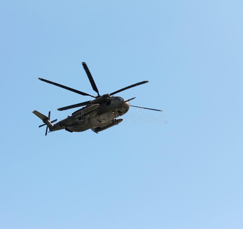 Израильский вертолет военновоздушной силы стоковая фотография rf