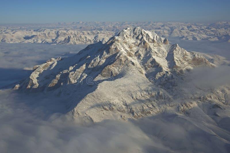 Изрезанная гора Афганистана стоковое изображение rf
