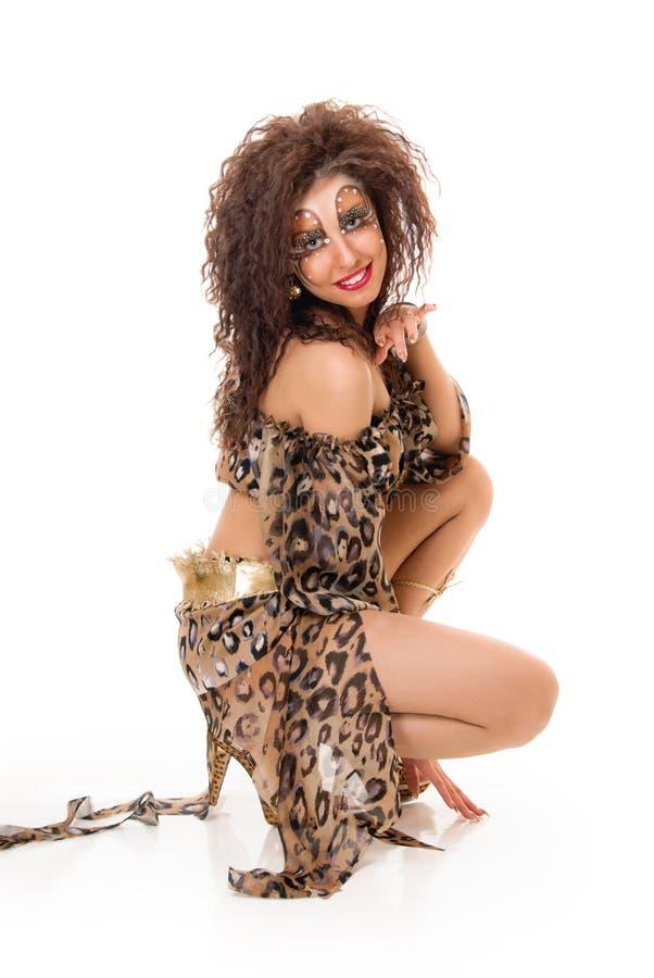 Изуверская девушка стоковые фото