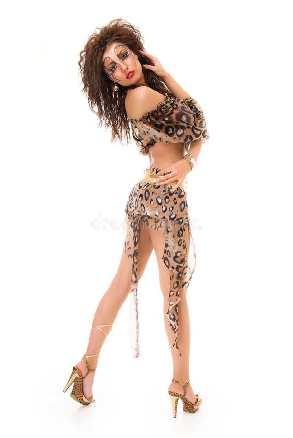 Изуверская девушка стоковое изображение
