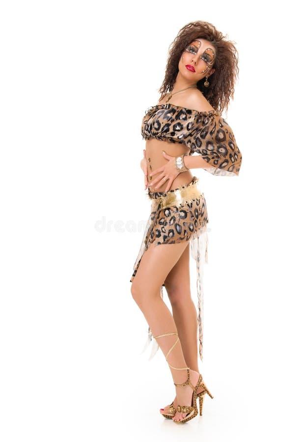 Изуверская девушка стоковые фотографии rf