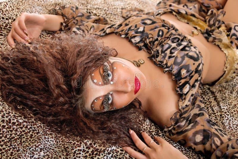 Изуверская девушка стоковые изображения