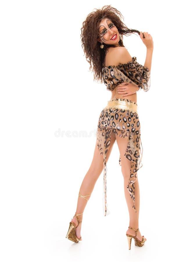 Изуверская девушка стоковые изображения rf