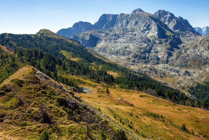 изумительная гора ландшафта стоковое изображение rf