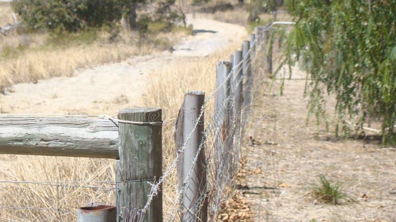 Изумительное изображение деревенской загородки стоковое фото rf