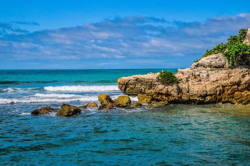 Изумительное море в Labadee, Гаити стоковая фотография