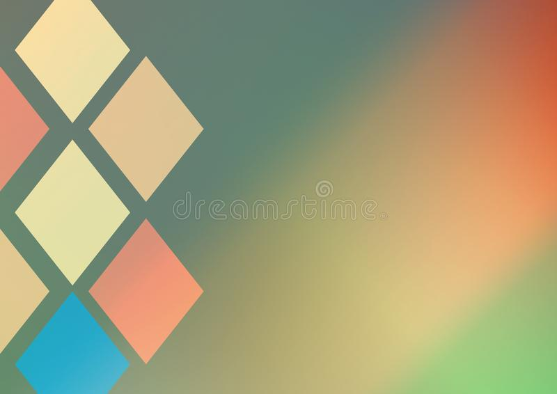 Изумительные абстрактные обои стоковое изображение