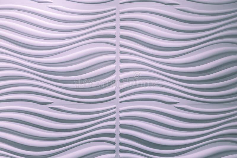 Изумительный взгляд крупного плана розоватой волнистой предпосылки внутренней стены декоративной стоковые изображения rf