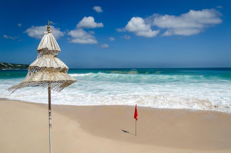 Изумительный красивый пляж Бали Dreamland стоковые фото