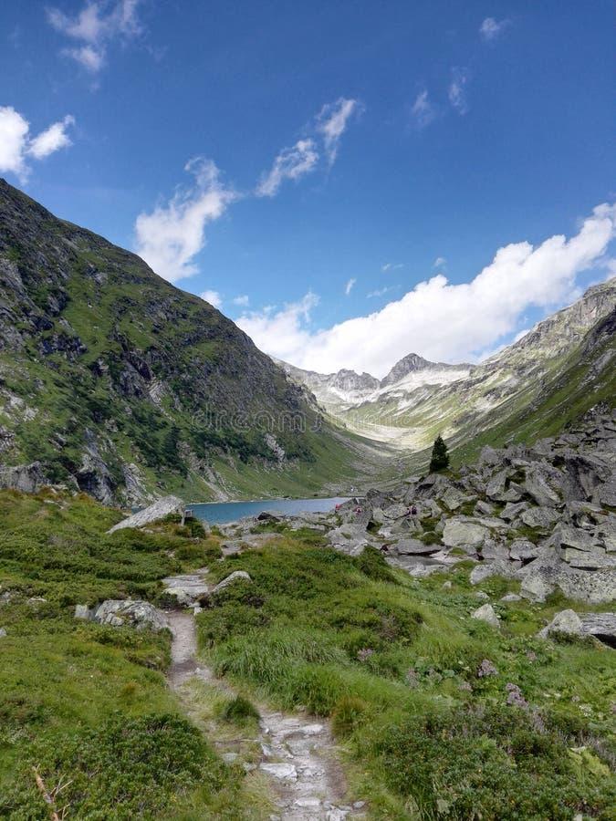 изумительный ландшафт в Австрии стоковые изображения rf