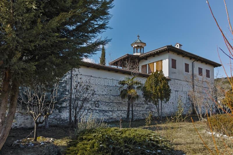 Изумительный взгляд рождества монастыря Rozhen матери бога, Болгарии стоковые изображения