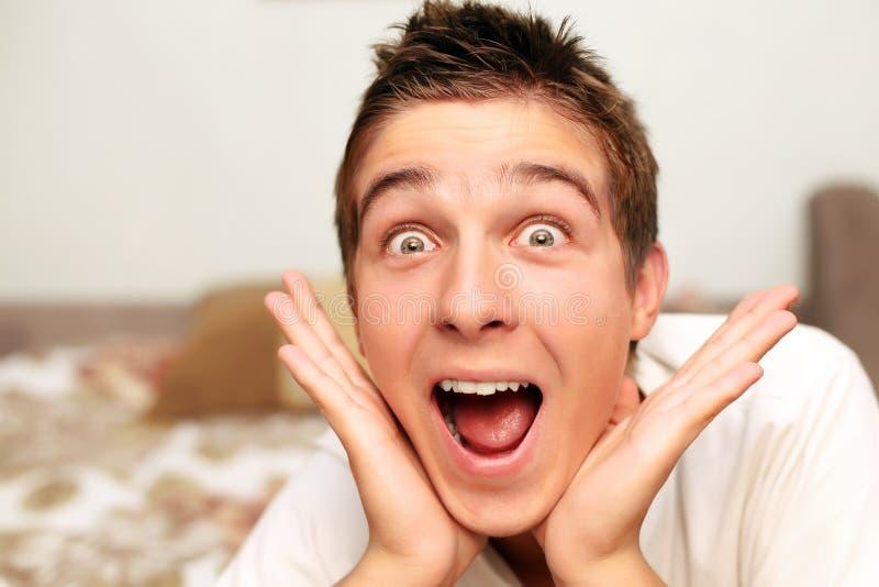 Изумленный подросток стоковое изображение rf