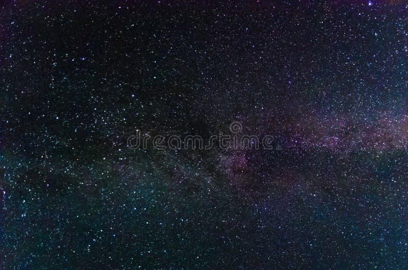 Изумляя взгляд на ночном небе стоковые изображения