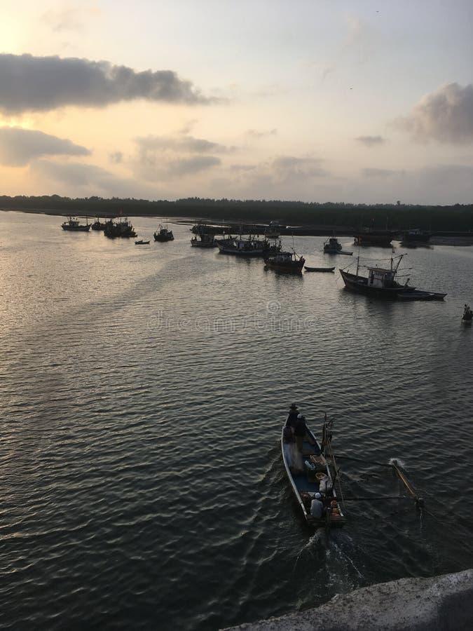 Изумляя красота природы моря стоковые фотографии rf
