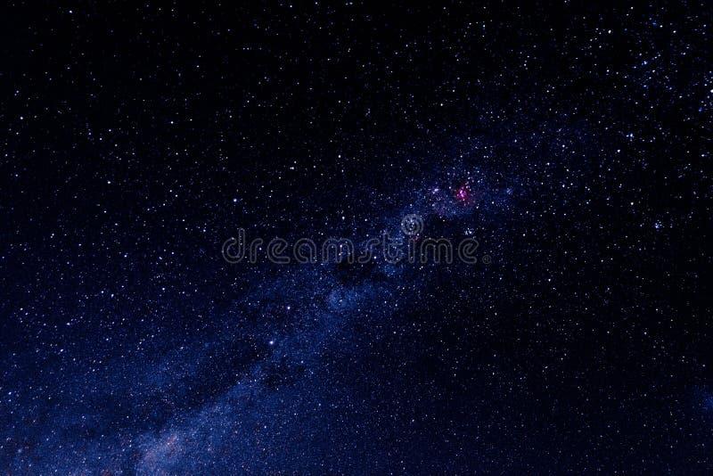 Изумляя предпосылка вселенной звезд Млечный путь стоковое изображение rf