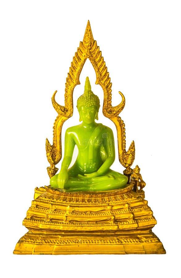 Изумрудное изображение Будды стоковая фотография