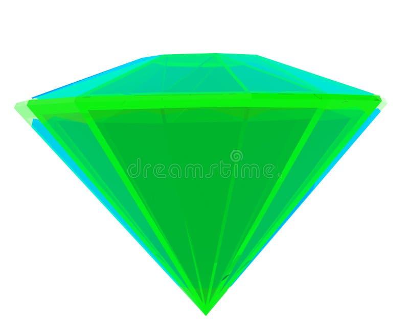 Download изумрудно-зеленый иллюстрация штока. иллюстрации насчитывающей драгоценность - 18395252