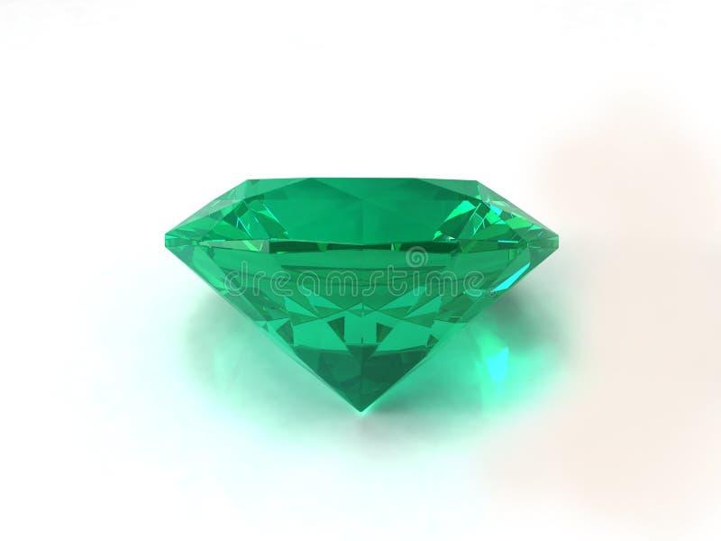изумрудный gemstone иллюстрация штока