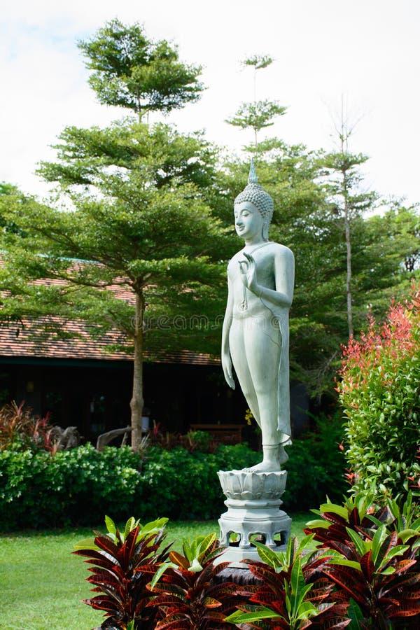 Изумрудное изображение Будды стоковое изображение
